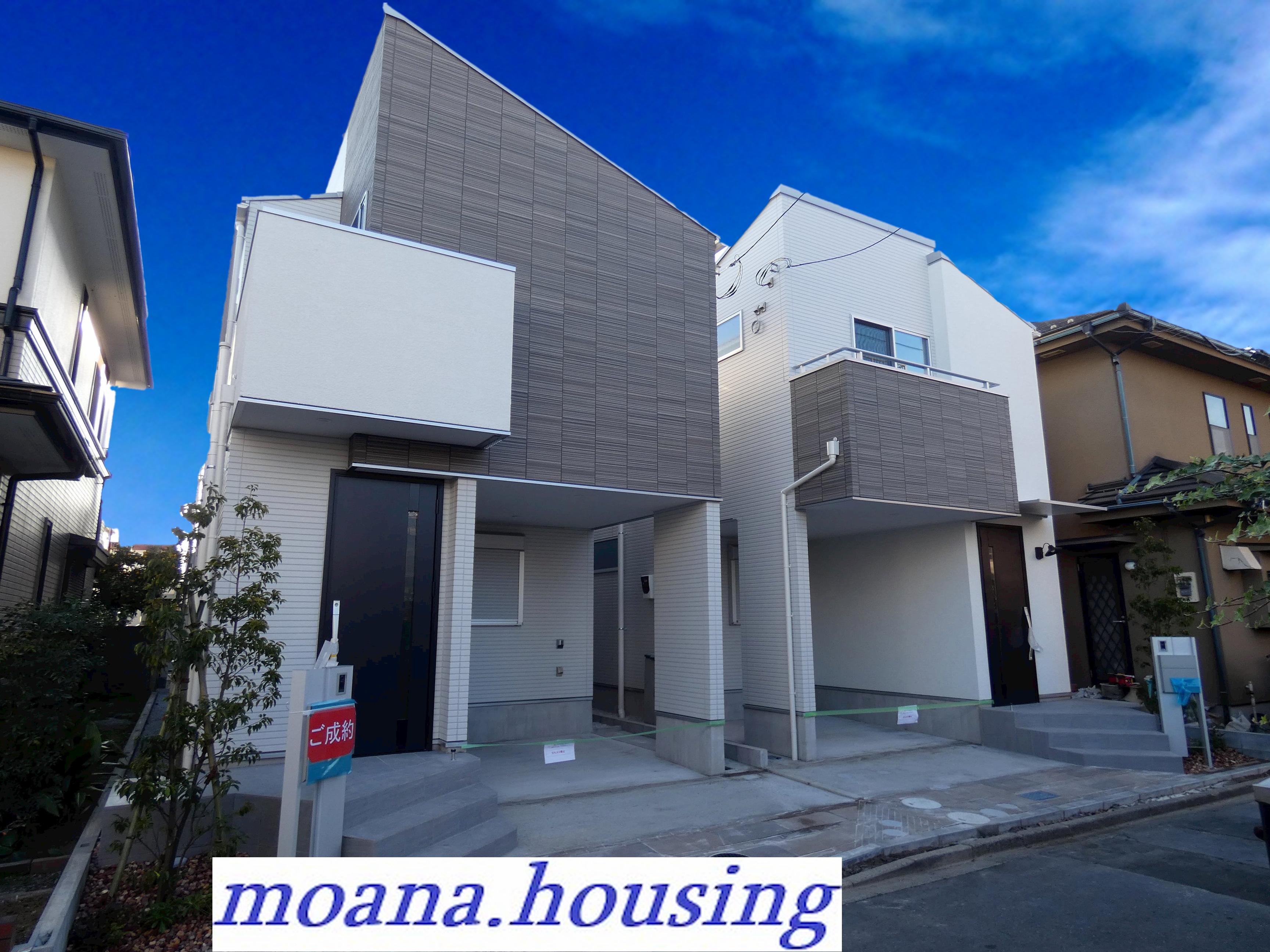 ♪メルディア谷津3丁目 全2棟の都市型新築デザイン住宅♪