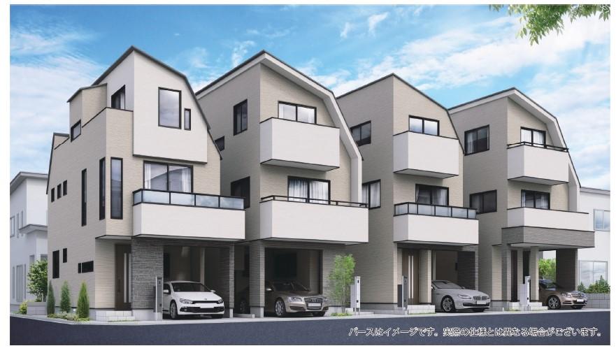 人気の津田沼エリア「メルディア前原東4丁目」全4棟の新築都市型デザイン住宅